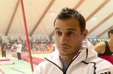 Samir Aït Saïd, le gymnaste qui s'est lourdement blessé lors des JO, est à nouveau sur pied et compte bien prendre sa revanche
