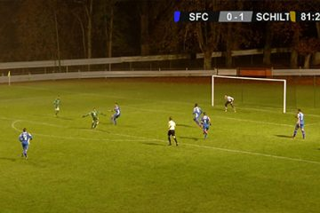 match de foot SFC - Schiltigheim