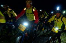 Les lucioles de Woustviller ont donné rendez-vous aux cyclistes pour une randonnée nocturne en VTT