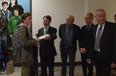 Pour l'obtention de leur premier diplôme, le brevet, les anciens élèves du collège Fulrad ont eu l'honneur de bénéficier d'une cérémonie solennelle