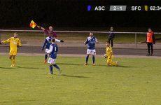 résumé du match de foot Biesheim - SFC