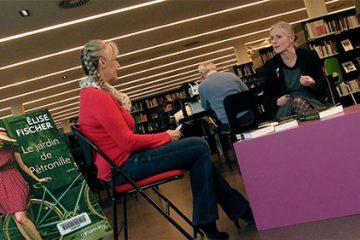 """Elise Fischer nous présente son livre intitulé """"Le jardin de Pétronille""""."""