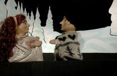 Spectacle de marionnettes la reine des neiges