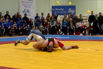 Sarreguemines a disputé la demi-finale du championnat de France de lutte