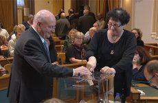 Élection du nouveau président et des vices-présidents de la CASC