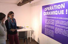 """expo """"opération céramique"""" jusqu'au 21/05/2017"""
