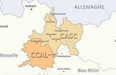 La nouvelle Casc en chiffre Quelle va être sa taille? Combien va-t-il y avoir d'habitants, de communes?