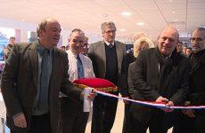 Une nouveau lieu de vie pour le CHS. La cafétéria entièrement rénovée a été inaugurée