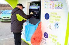 Deux nouvelles bornes de recyclage ont été installées au Super U de Roth-Hambach.
