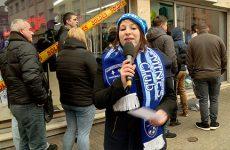 Sandrine est parti à la rencontre des fans du club sarregueminois.