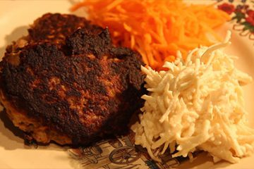 Boulettes de viande et restes de pot au feu