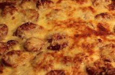 Quiche aux pommes de terre et saucisses à cuire de la Ferme de la Rose à Munster