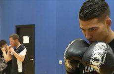Cédric Tousch entend bien rester champion du monde de kick-boxing.