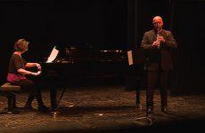 Les professeurs du conservatoire de Sarreguemines en concert sur la scène du casino.