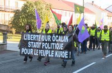 Les Kurdes organisent une grande marche du Luxembourg à Strasbourg