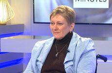 Suzanne Barbenson nous présente les actions de l'association des Paralysés de France.