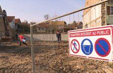 Travaux à Wiesviller Le chantier de maison médicale avance avec une première pierre posée la semaine prochaine.