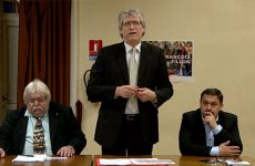 Céleste Lett et Les Républicains de Sarreguemines sont derrière leur candidat.
