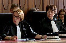 Tribunal de Grande Instance de Sarreguemines Pascale KRIER est émue et honorée de devenir la nouvelle présidente.