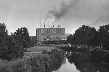 Centrale de Grosbliederstroff - épisode 4 : vue depuis Kleinblittersdorf.