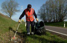Nos routes départementales reçoivent beaucoup de déchets !