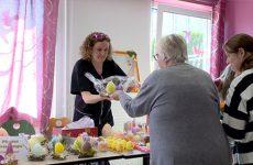 Du nouveau à l'IME Pour la 1ère fois l'Institut Médico-Éducatif de Sarreguemines organise un marché de Pâques.