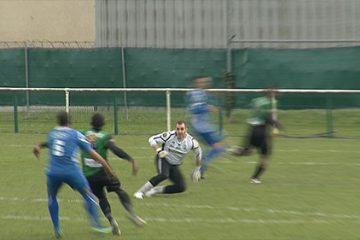 Résumé du match de foot en championnat de ce week-end.