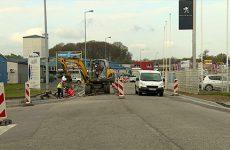 Travaux rue Gutenberg Le chantier se prolonge mais la circulation s'améliore.