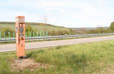 Bornes d'urgence de la voie rapide Sarreguemines-Forbach