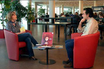 """Philippe LECHERMEIER présente son nouveau livre : Une bible """"comme un roman""""."""