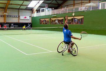 Le tennis handisport - épisode 1 : un tournoi à la cool.