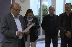 Nous avons posé 3 questions au maire, Jean Karmann lors du dépouillement.