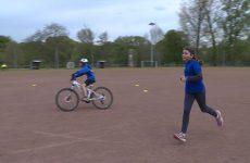 Le Sarreguemines triathlon club forme 11 jeunes à cette discipline.