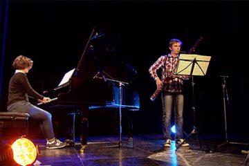 Olivier Schoeser interprète au basson « variations et rondo » de Johann Wenzel Kalliwoda.