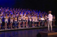 Le chœur des chorales scolaires de Moselle-Est