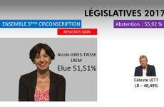 Législatives 2017 Retour sur les résultats du deuxième tour de la circonscription.
