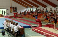 Des gymnastes internationaux à Sarreguemines !