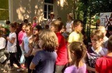 Les enfants du périscolaire de Sarreguemines se sont amusés au camping.