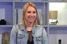 Ania Gauer parle du court-métrage qu'elle va tourner cet été.