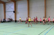 Des championnes de twirling bâton à Woustviller. Des filles sont classées au niveau mondial et national
