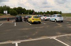 Le parking de covoiturage d'Hambach est inauguré