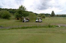 Travaux au golf Sarreguemines-Confluence