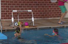 Des jeux dans l'eau pour les enfants à Sarralbe