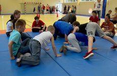 Les enfants de l'IME et du CMJ de Sarreguemines pratiquent ensemble différentes activités.