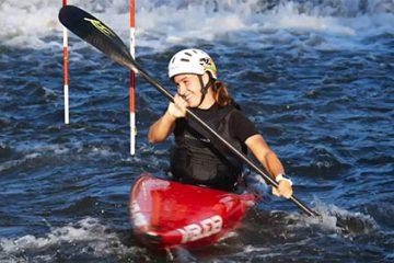 L'aventure kayak de Sophie Staudt.