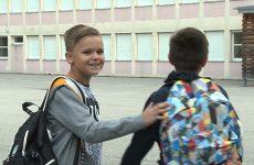 Les élèves de sixième ont fait leur rentrée au collège de Puttelange-aux-Lacs.