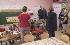 Une visite dans les écoles sarregueminoises
