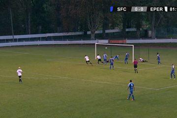 Retrouvez les meilleurs moments de la rencontre qui opposait le Sarreguemines FC au Épernay RC.