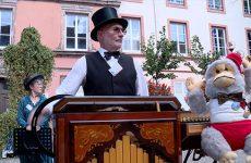 Les orgues de Barbarie ont animé Sarreguemines.