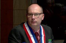 élection de Denis Peiffer au poste de 10ème adjoint de Sarreguemines